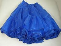 Wholesale Blue Color Fashion Women s NEW S ROCK SQUARE DANCING PETTICOAT SKIRT