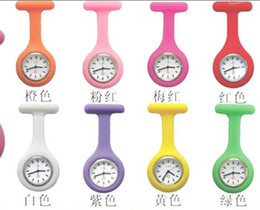 Wholesale 20pcs Silicone nurses Table wall charts nurses nurse specific tables candy colored watches FGDFG