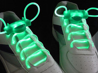 Halloween Plastic  2010 style colorful led flashing shoelace LED Flashing shoelace light up shoe laces Laser Shoelaces