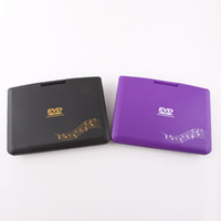 Wholesale 9 quot Protable DVD Player FL multifunction play DVD VCD MP3 TV and Games two colors Drop shipping