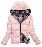 Wholesale new women girl down jacket lady down coat feather dress double sided outwear