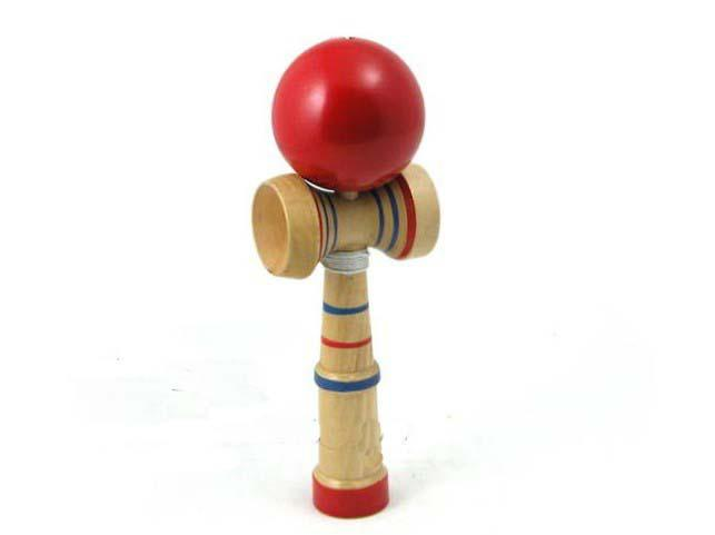Japanese Toys And Games : Kendama cup and ball game japanese toy wooden