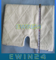 Wholesale MicroFiber Covers Replacement Washable Cloth Steam Pocket Pad White