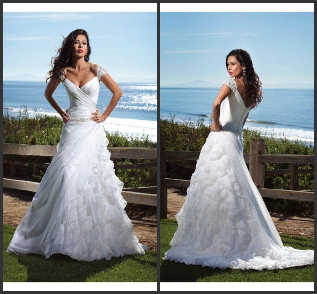 2015 New Pnina Tornai Wedding Dress Vintage A Line Cap