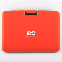 Wholesale 9 inch Protable DVD Player FL multifunction play VCD DVD Black Orange color