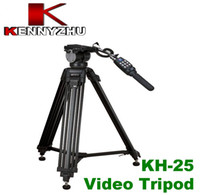 Wholesale Pro Video Camera Camcorder Fluid Tripod Benro KH With Remote Control For Canon XL1 XL1S XM1 XM2