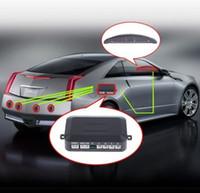 Wholesale 4 Parking Sensors LED Display Car Parking Sensor System Car Reverse Backup Kit