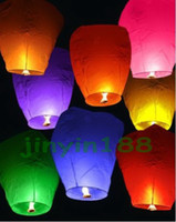 Wholesale Wishing Lanterns KongMing Lantern Flying Light Chinese Wish Light Flame Sky