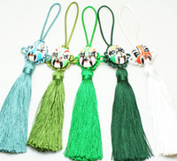 Wholesale Tassel Car Interior Ornaments Chinese knot Facebook Crafts Hanging mix Free