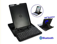 For Apple 360 keyboard case - Bluetooth wireless Tablet Keyboard for ipad Degree Adjustable Keyboard Case for iPad