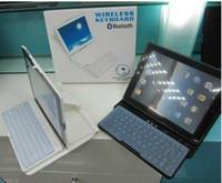 black,white 360 keyboard case - pc Degree Adjustable Slider Keyboard Case wireless keyboard for black white