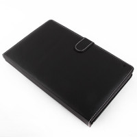 Wholesale Christmas black quot Keyboard Leather Case Stylus Full USB TYPE fit for inch Android Tablet PC