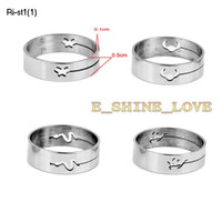 Wholesale Laser Cutting Stainless Steel Rings For Men Ri st1 Assorted Size randomly sent
