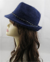 Wholesale Women fashion charming lapin hat top hat B11074