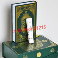 Wholesale 4pcs GB Quran Read Pen Quran Reading Pen Islamic Quran with MP3 easy to study H9800 ems