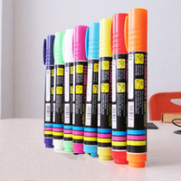 Wholesale 4mm Fluorescent Marker pen color Special for LED Fluorescent writing board