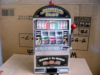 Wholesale Hot sale Reczone Slot Machine Jumbo Slot Coin Bank Game Machine with light Jackpot and ring