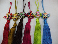 Wholesale Car Christmas Ornament Hanging Chinese knot Facebook Crafts mix Free