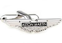 aston martin cufflinks - Aston Martin Car Sign Shape Cufflinks