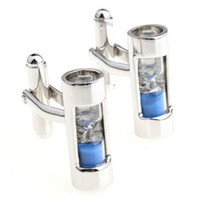 Wholesale The real hourglass cufflinks men s cufflinks