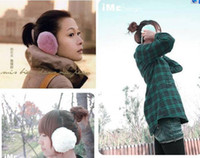 Wholesale 100pcs New Winter Warmth Plush Earmuffs Ear Muff Colors Mixed Ear Muffs Christmas