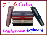 Wholesale Cheap Android Tablets Keyboards - 200pcs Cheap 7 inch keyboard case for 7 inch Android tablet RW-L11-01