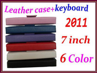 Wholesale 100pcs colours inch keyboard case for inch epad Tablet pc Q8 RW L11