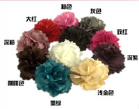 Hair Clips Cotton Floral 50pcs Fashion hair accessories,Lady style Flower hair clips ,Brooch, low price!