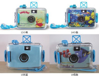Wholesale Kids Lomo Camera Film Waterproof M Diving Underwater Cam Battery Free Camera Christmas Low price