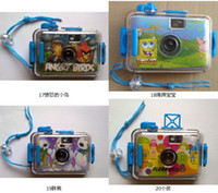 Wholesale Lomo Film Camera Waterproof M Diving Underwater Cam Battery Free Children Camera Christmas Gift HOT