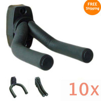 Wholesale 10pcs Guitar padded foam Wall Mount Hanger Hook Holder Stand Rack Display