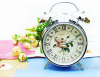 Wholesale 2011 Hot Sale Alarm Clock NewArrival Alarm Clcok Quality Metal Twin Bell Table Alarm Clock