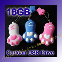 Wholesale Feet shape USB Flash Memory drive Stick Pen Drive real GB thumbdrive