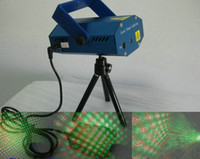 Wholesale Drop shipping Mini Laser Stage Lighting mW mini Green amp Red Laser DJ Party Stage Light