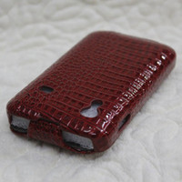 Croco leather case for Samsung Galaxy Ace S5830 100pcs lot D...