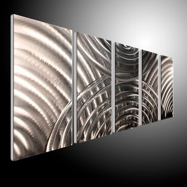 2017 metal painting wall abstract painting artist original for Decor mural metal