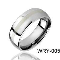 Band Rings american brushes - Brushed Tungsten Rings Dome Style Fashion Rings for Gifts WRY Hot Sales