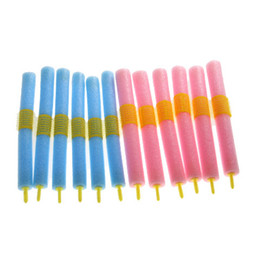 Wholesale 12Pcs Sponge Hair Curler Bar