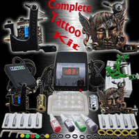 Beginner Kit beginner tattoo designs - Complete Tattoo Kit Special Design Machine Guns Needles Top Power Tattoo Inks