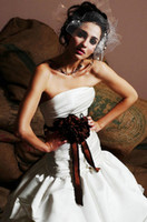 Wholesale New Arrival Lovely Waist Flower Bridal Belt For your Wedding Gown Handmadeflower Trimming TS