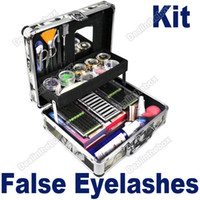 Wholesale Professional Eye Lash False Eyelashes Eyelash Kit Extension Kit Full Set Case