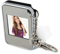 1.5 inch Video Playback Metal 2011--New products Christmas gift key ring 1.5 inch thin digital photo frames electronic albums KO1