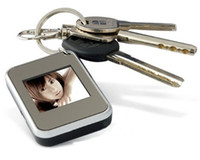 Wholesale 2011 New products Christmas gift key ring inch thin digital photo frames electronic albums KO2