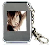 Blue / Green 1.5 inch Manual and automatic playback 2011--New products Christmas gift key ring 1.5 inch thin digital photo frames electronic albums KO3
