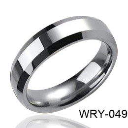 Heavy Tungsten Carbide Ring Tungsten Ring High Polished Style WRY-049 Hot Sales
