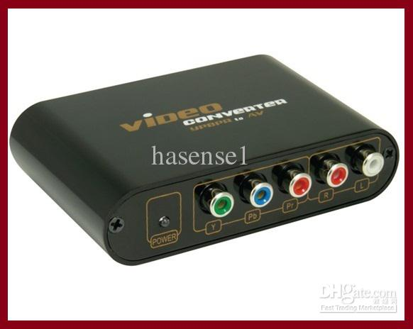 composite s-video ypbpr 1080p audio to hdmi converter hdtv adapter devices