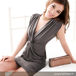 Hot Summer Fashion Women's Clubwear Dress Cocktail Party Elegant Sexy Droop V Neck Mini Casual Dress