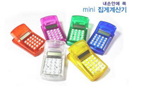 Wholesale 20PCS small computer notes clip clip mini calculator calculator