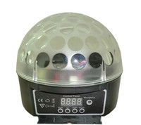 Wholesale New Led transparent crystal magic ball LED effect lights for Dj club party