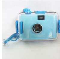 Wholesale top LOMO Underwater Waterproof Mini mm Film Camera BLUE